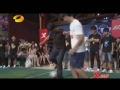 视频-前国脚做客天天向上 PK小球员脚后跟破门