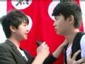 《向上吧!少年-成长秀片花》20120908 朱朱浩子采访选手教练的离别感言