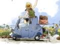 骑车回巴黎之法国骑士回乡记