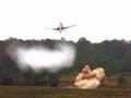 美军攻击机误战英国战车