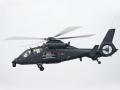 现场直击中国最强大武装直升机