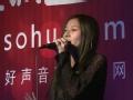 《寻找好声音》专业课培训沈阳站 郭京京演唱英文歌曲