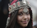 反恐前沿的穆斯林少女