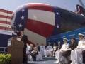 美国攻击核潜艇抵达菲律宾海湾