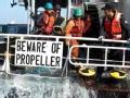 中国船员遭韩国海警暴力执法