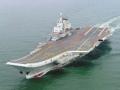 中国航母平台顺利出港