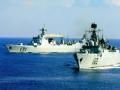 南海舰队远海训练 四大主力舰艇齐亮相