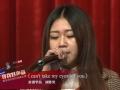 《寻找好声音》专业课培训北京站 刘胜男演唱英文歌曲