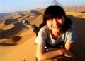 在沙漠上撒点野