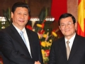 中越领导人会面 强调友好协商解决南海问题