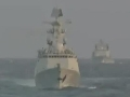 中国军情 疑似中国052D驱逐舰首航出海海试