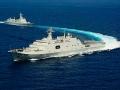 中国海军主力舰尽出搜索马航失联班机