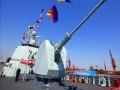 中国052D导弹驱逐舰装备130毫米口径舰炮幕后玄机