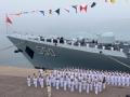 """中国海军编队挥师""""环太""""军演"""