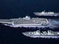 中国军情 中国部署三个航母战斗群