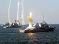 美国三艘宙斯盾舰现身南海