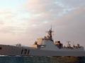 中国军情 有报道称第六艘052C下水
