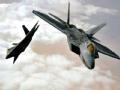 """美军出动F-22与B-1B打击叙境内""""伊斯兰国""""幕后疑云"""