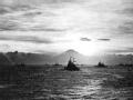 燃烧的太平洋 日落东京湾