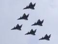 中美俄军队上演三国演义