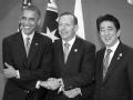 """美日澳首脑会谈特别强调""""针对中国"""""""