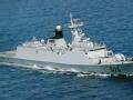 新一艘054A亮相火力改进可为航母护航