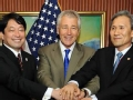 美日韩正式签署军事情报共享协议