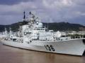 中国海军现代级驱逐舰 欲换导弹垂直发射系统
