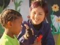 《极速前进中国版第二季片花》第七期 非洲小朋友不知道桥  杨千嬅耐心教小朋友