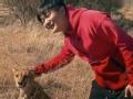 《极速前进中国版第二季片花》第七期 筷子兄弟猎豹合影秒过关 原氏姐弟喂狮子失败
