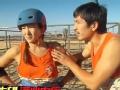 《极速前进中国版第二季片花》第七期 原子鏸骑驼鸟摔惨嚎叫 韩庚一次过关前滚翻耍帅