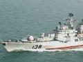 中国海军精锐亮相中俄海上联合军演