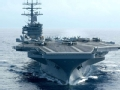 美军最强核航母即将部署日本 指向何方