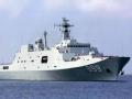 中国最新两栖船坞登陆舰露面引关注