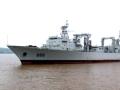 中国最新一艘补给舰露面引关注