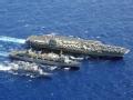 周末点兵 美军航母差点被伊朗火箭炸着
