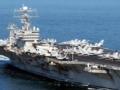 美军核航母核潜艇齐聚东北亚