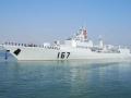 海军167深圳舰改装照引军迷关注