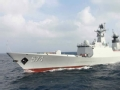 中国最新一艘054A型护卫舰下水引关注