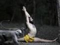 印度名片 瑜伽