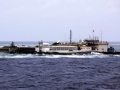 """菲律宾军舰""""坐滩""""我南海岛礁实录"""