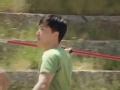 《极速前进中国版第三季片花》第一期 刘翔被标枪难住屡试不中 表弟在旁耐心指导