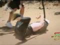 《极速前进中国版第三季片花》第七期 Melody怂恿吴建豪助跑蹦极 郭晶晶坠地摔伤