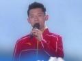 《快乐大本营片花》张继科低音炮秀歌技PK张杰 谢娜变迷妹全程跟唱