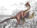 博物馆里话团圆  会飞的恐龙
