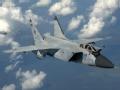 突击美军舰机的俄罗斯军机