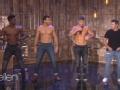 《艾伦秀第14季片花》第三十四期 新环节全场搞怪热舞 肌肉猛男教学安迪性感舞蹈