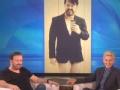 《艾伦秀第14季片花》第三十九期 瑞奇谈对薪酬十分满意 裸照公开瑞奇秒变害羞