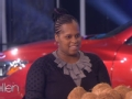 《艾伦秀第14季片花》第八十七期 女嘉宾曝看病步行数百街 现场扔椰子赢得汽车归