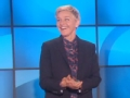 """《艾伦秀第14季片花》第一百一十九期 艾伦爆笑解析BBC视频 吉米坎莫尔试穿""""桑拿裤"""""""
